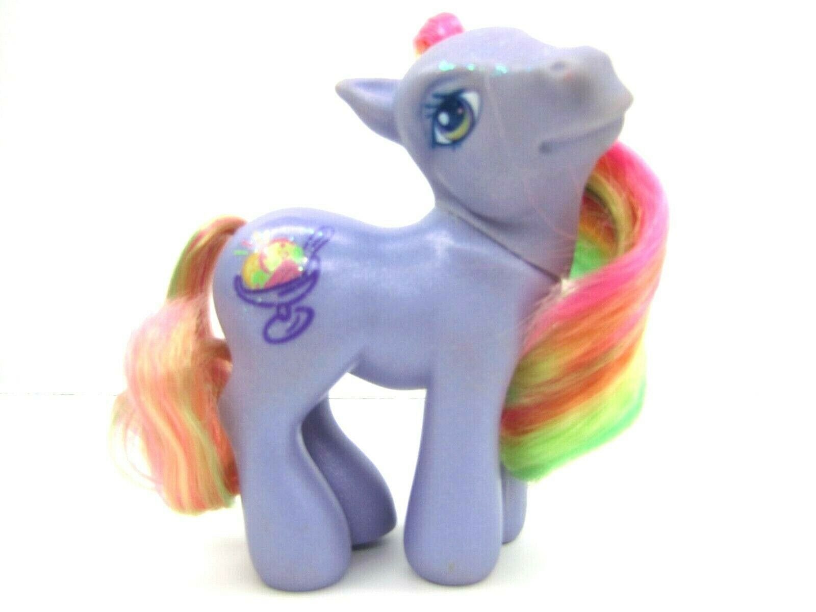 2004 My Little Pony Generation 3 Sparkle Pony RAINBOW SWIRL Very NICE
